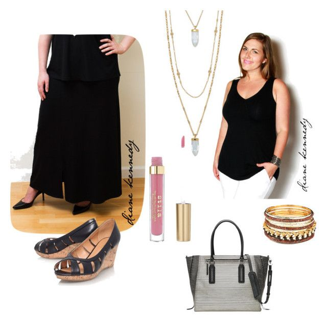 diane Kennedy Maxi Skirt, Monochromatic,
