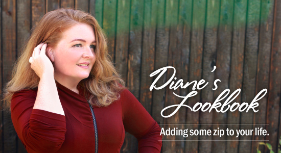 Diane's Lookbook: Adding some zip to your life