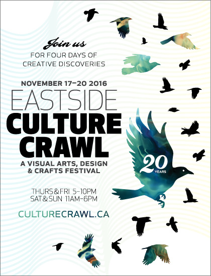 Eastside Culture Crawl E-vite