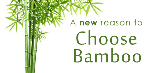 A new reason to choose bamboo