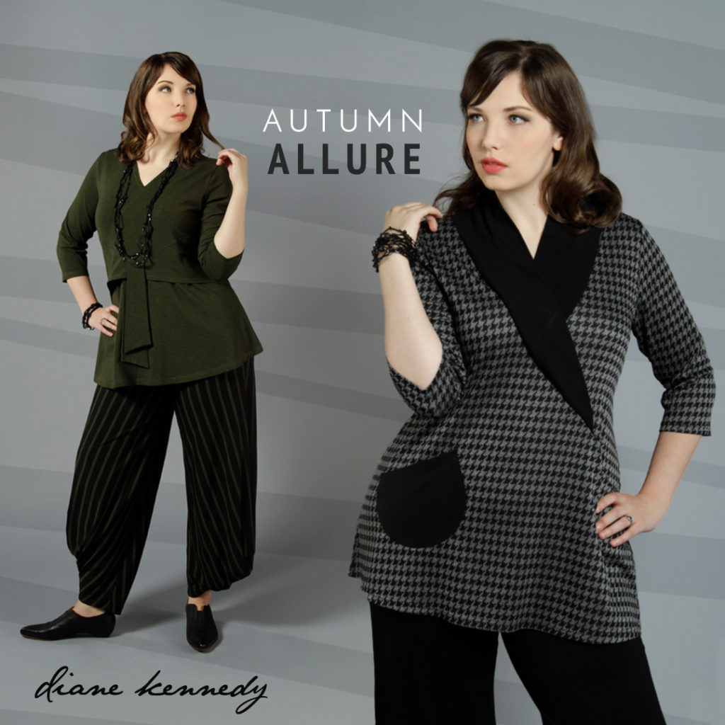 New Diane Kennedy tunics for Fall 2017