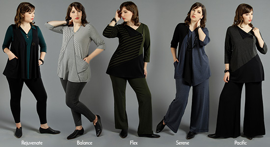 Diane Kennedy pants shapes explained