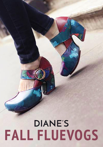 Diane Kennedy and Fluevogs