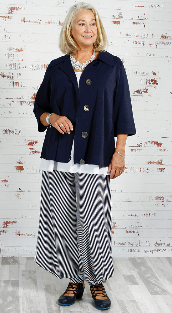 Diane Kennedy's Box Office Jacket is a great choice for a rectangle figure type